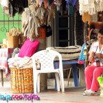 Señora tejiendo en Nobsa