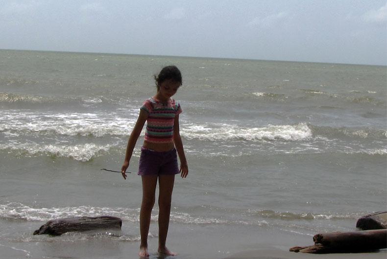 En las playas de Necoclí