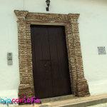 Portón de una casa antigua