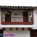 Balcón casa antigua
