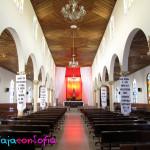 Interior de la Iglesia de Salento